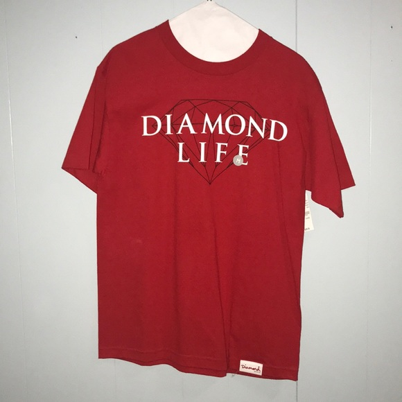 Diamond Life Red T Shirt Pacsun 5a8aab9c9